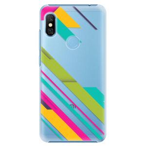 Plastové puzdro iSaprio - Color Stripes 03 - Xiaomi Redmi Note 6 Pro