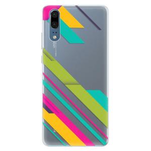 Silikónové puzdro iSaprio - Color Stripes 03 - Huawei P20