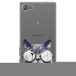 Plastové puzdro iSaprio - Crazy Cat 01 - Sony Xperia Z5 Compact