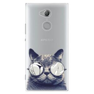 Plastové puzdro iSaprio - Crazy Cat 01 - Sony Xperia XA2 Ultra