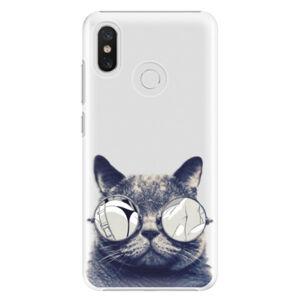 Plastové puzdro iSaprio - Crazy Cat 01 - Xiaomi Mi 8