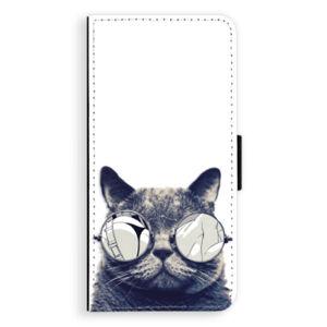 Flipové puzdro iSaprio - Crazy Cat 01 - Huawei Ascend P8