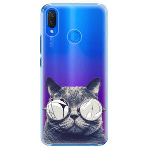 Plastové puzdro iSaprio - Crazy Cat 01 - Huawei Nova 3i