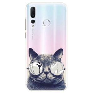 Plastové puzdro iSaprio - Crazy Cat 01 - Huawei Nova 4