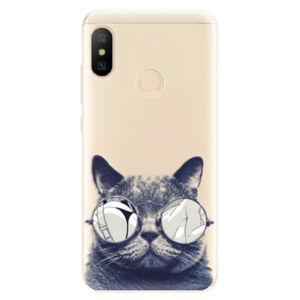 Odolné silikónové puzdro iSaprio - Crazy Cat 01 - Xiaomi Mi A2 Lite