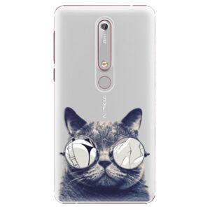 Plastové puzdro iSaprio - Crazy Cat 01 - Nokia 6.1