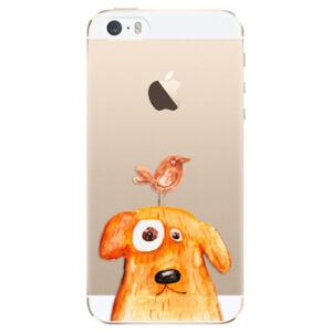 Plastové puzdro iSaprio - Dog And Bird - iPhone 5/5S/SE