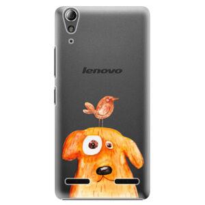 Plastové puzdro iSaprio - Dog And Bird - Lenovo A6000 / K3