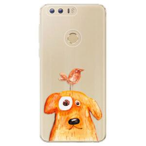 Plastové puzdro iSaprio - Dog And Bird - Huawei Honor 8