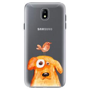 Plastové puzdro iSaprio - Dog And Bird - Samsung Galaxy J7 2017