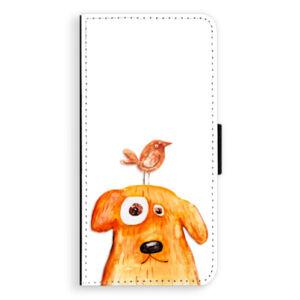 Flipové puzdro iSaprio - Dog And Bird - Huawei Ascend P8