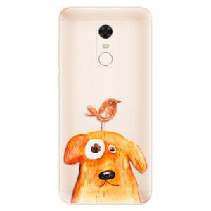 Silikónové puzdro iSaprio - Dog And Bird - Xiaomi Redmi 5 Plus