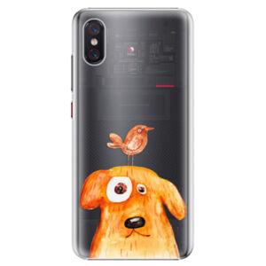 Plastové puzdro iSaprio - Dog And Bird - Xiaomi Mi 8 Pro