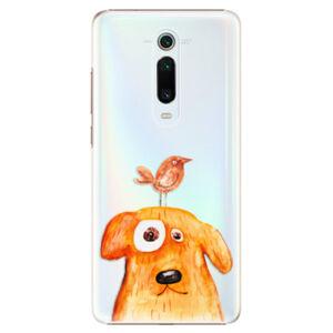 Plastové puzdro iSaprio - Dog And Bird - Xiaomi Mi 9T Pro