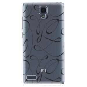 Plastové puzdro iSaprio - Fancy - black - Xiaomi Redmi Note