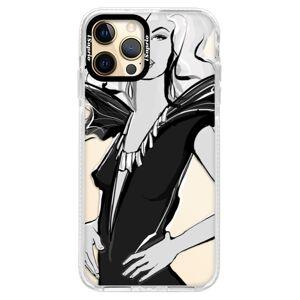 Silikónové puzdro Bumper iSaprio - Fashion 01 - iPhone 12 Pro