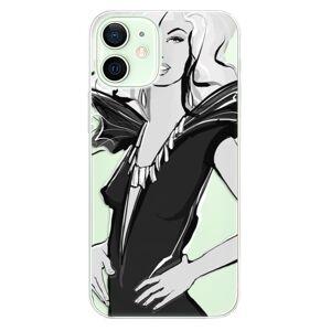 Odolné silikónové puzdro iSaprio - Fashion 01 - iPhone 12