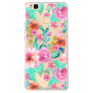 Plastové puzdro iSaprio - Flower Pattern 01 - Huawei Ascend P9 Lite