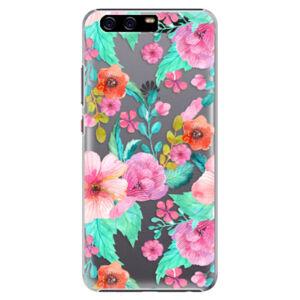 Plastové puzdro iSaprio - Flower Pattern 01 - Huawei P10 Plus