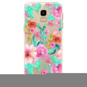 Plastové puzdro iSaprio - Flower Pattern 01 - Samsung Galaxy J6