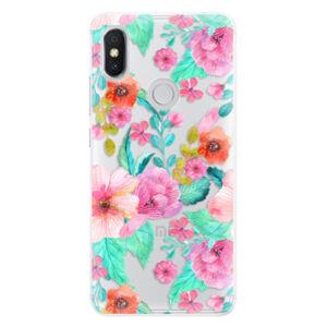 Silikónové puzdro iSaprio - Flower Pattern 01 - Xiaomi Redmi S2