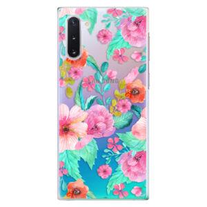 Plastové puzdro iSaprio - Flower Pattern 01 - Samsung Galaxy Note 10