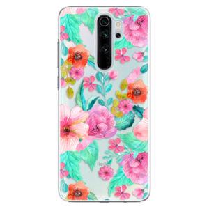 Plastové puzdro iSaprio - Flower Pattern 01 - Xiaomi Redmi Note 8 Pro