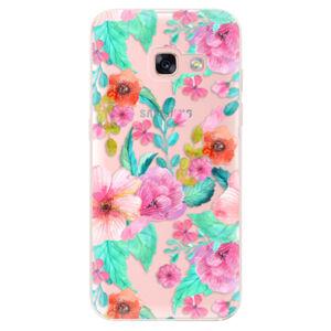 Odolné silikónové puzdro iSaprio - Flower Pattern 01 - Samsung Galaxy A3 2017