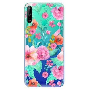 Odolné silikónové puzdro iSaprio - Flower Pattern 01 - Huawei P40 Lite E