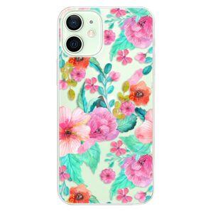 Plastové puzdro iSaprio - Flower Pattern 01 - iPhone 12