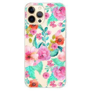 Odolné silikónové puzdro iSaprio - Flower Pattern 01 - iPhone 12 Pro