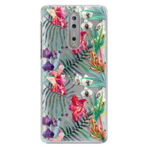 Plastové puzdro iSaprio - Flower Pattern 03 - Nokia 8