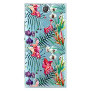 Plastové puzdro iSaprio - Flower Pattern 03 - Sony Xperia XA2