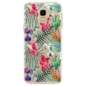 Plastové puzdro iSaprio - Flower Pattern 03 - Samsung Galaxy J6
