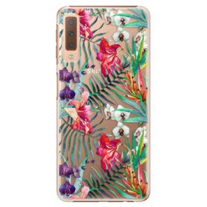 Plastové puzdro iSaprio - Flower Pattern 03 - Samsung Galaxy A7 (2018)