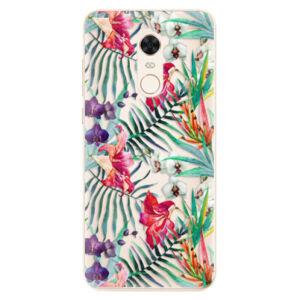 Silikónové puzdro iSaprio - Flower Pattern 03 - Xiaomi Redmi 5 Plus