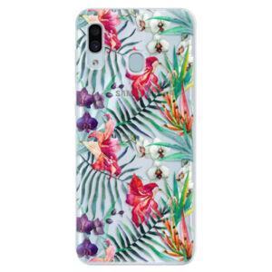 Silikónové puzdro iSaprio - Flower Pattern 03 - Samsung Galaxy A30