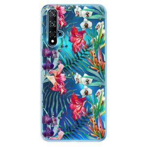 Odolné silikónové puzdro iSaprio - Flower Pattern 03 - Huawei Nova 5T