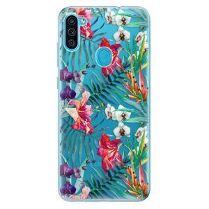 Odolné silikónové puzdro iSaprio - Flower Pattern 03 - Samsung Galaxy M11