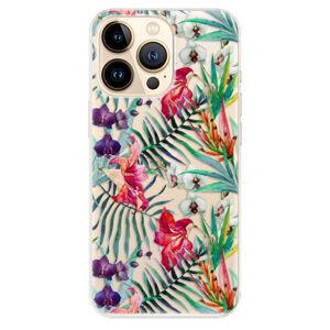 Odolné silikónové puzdro iSaprio - Flower Pattern 03 - iPhone 13 Pro