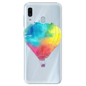 Plastové puzdro iSaprio - Flying Baloon 01 - Samsung Galaxy A30