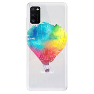 Odolné silikónové puzdro iSaprio - Flying Baloon 01 - Samsung Galaxy A41