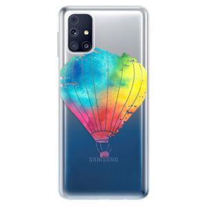 Odolné silikónové puzdro iSaprio - Flying Baloon 01 - Samsung Galaxy M31s