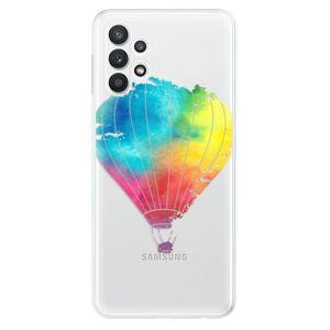 Odolné silikónové puzdro iSaprio - Flying Baloon 01 - Samsung Galaxy A32