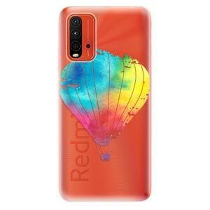 Odolné silikónové puzdro iSaprio - Flying Baloon 01 - Xiaomi Redmi 9T