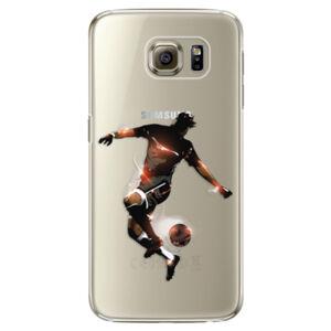 Plastové puzdro iSaprio - Fotball 01 - Samsung Galaxy S6 Edge