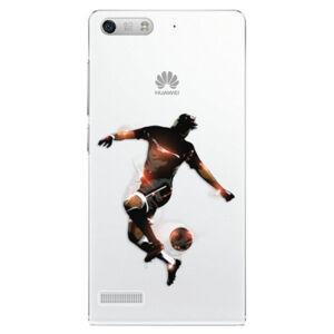 Plastové puzdro iSaprio - Fotball 01 - Huawei Ascend G6