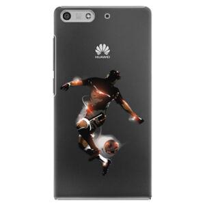 Plastové puzdro iSaprio - Fotball 01 - Huawei Ascend P7 Mini