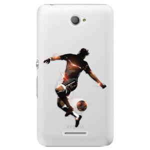Plastové puzdro iSaprio - Fotball 01 - Sony Xperia E4