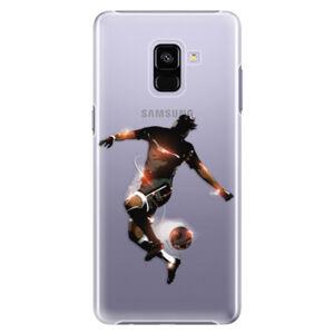 Plastové puzdro iSaprio - Fotball 01 - Samsung Galaxy A8+